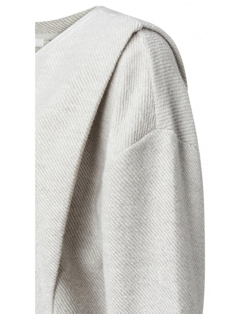 Yaya Shoulder Pleat Jersey Sweater