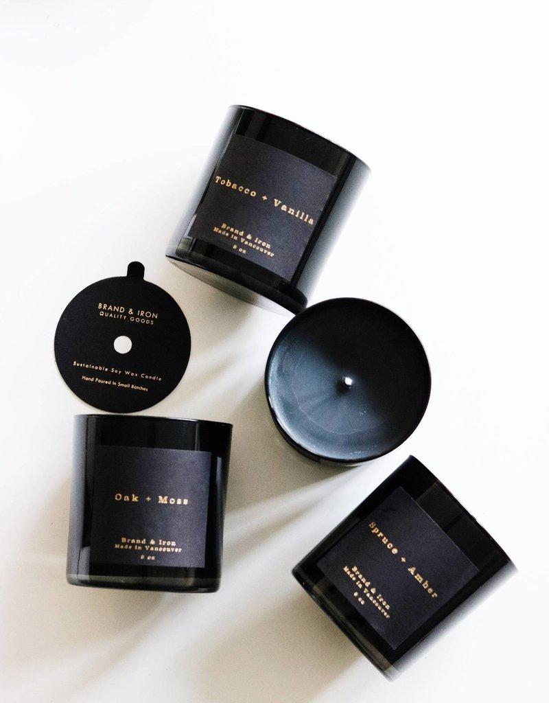 BRAND & IRON Dark Series Candle