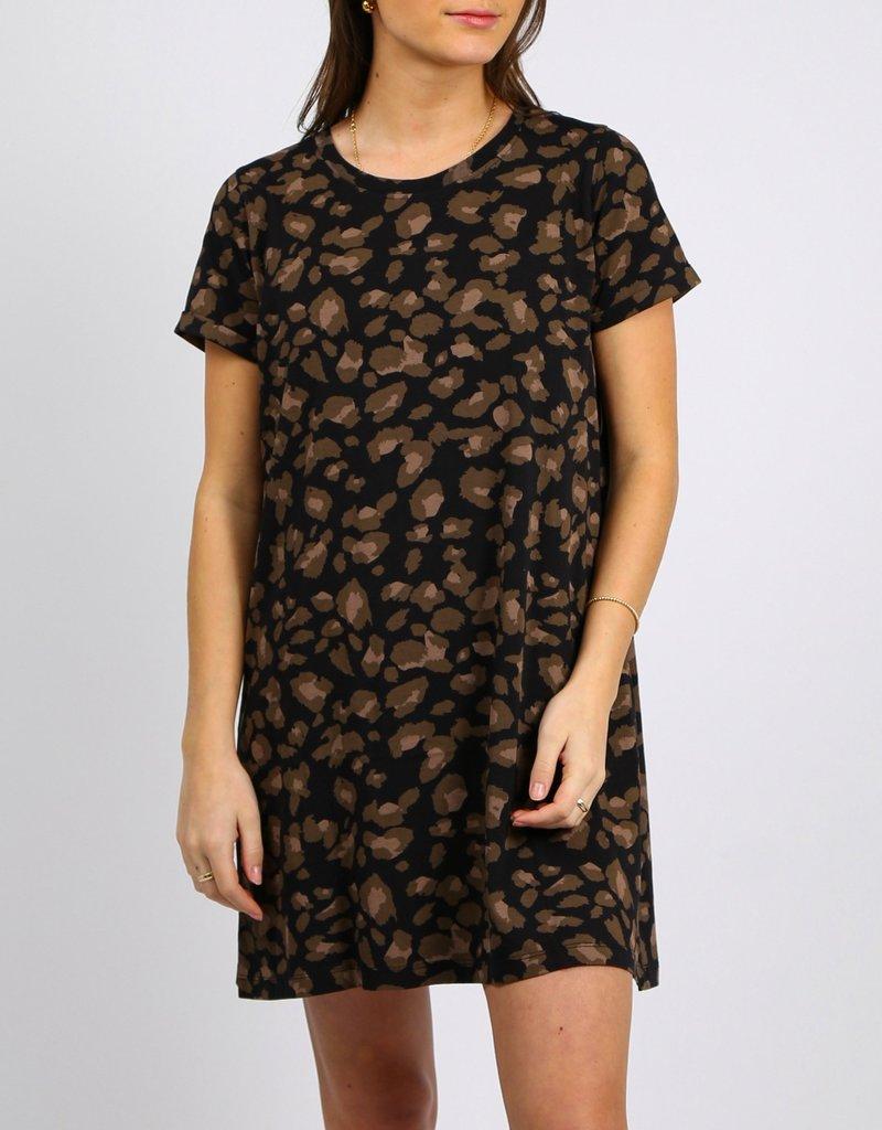 Brunette Showroom Tee Dress