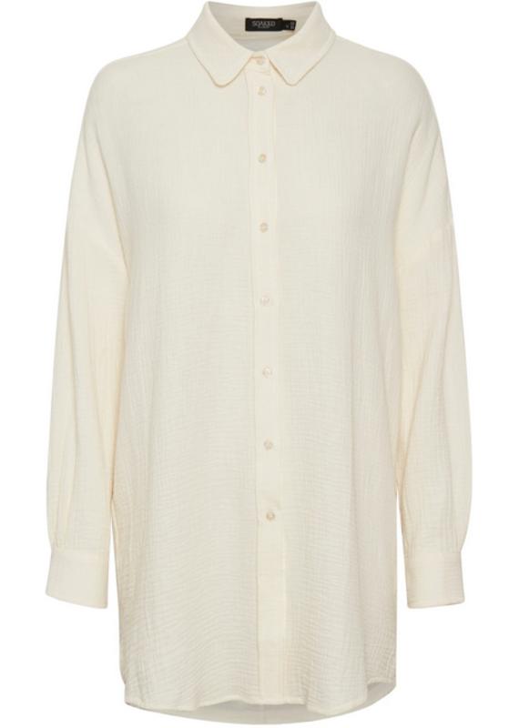 Soaked In Luxury Sonya Ruffle Shirt