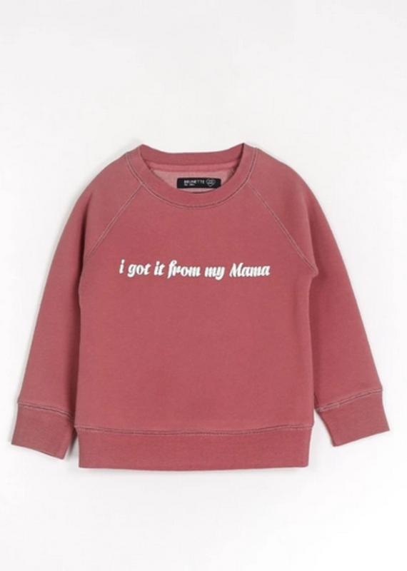 Brunette Showroom I Got It Little Babes Sweater