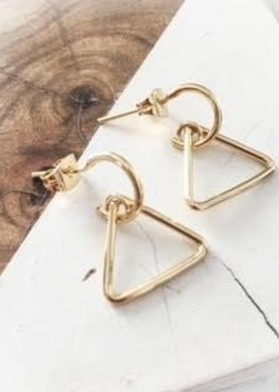 DBL Designs Trifecta Earrings