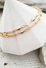 DBL Designs Rhombus Chain Choker Necklace