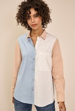 Mos Mosh Bella Colour Block Shirt