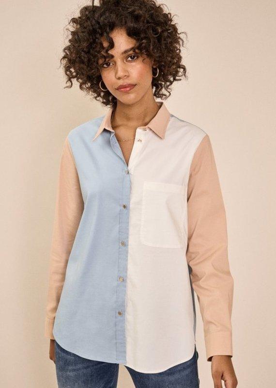 Mos Mosh Bella Colour Block Shirt