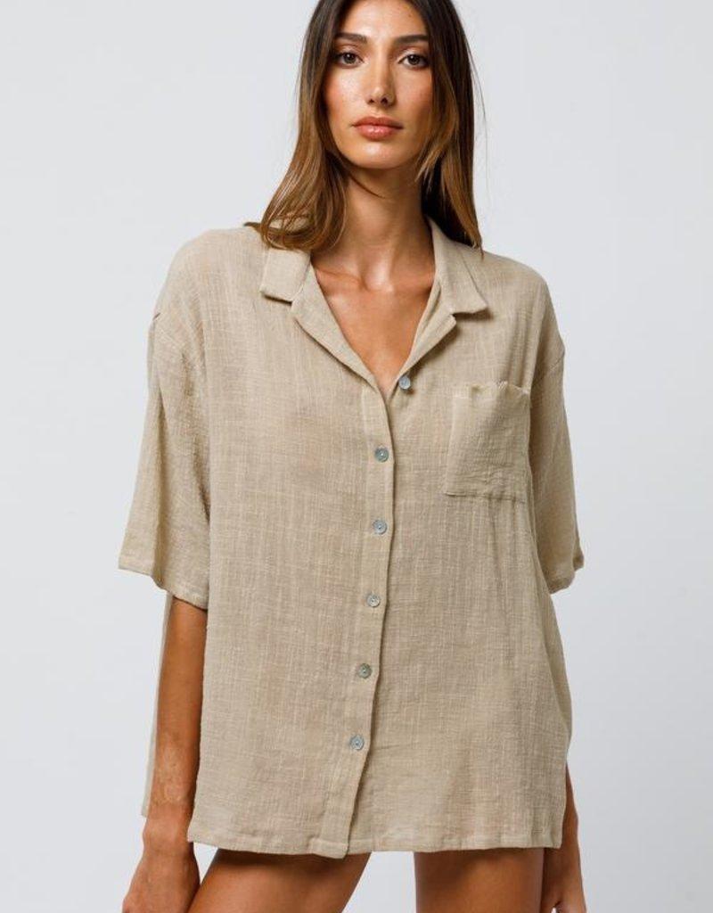 Beach Gold Frankie Shirt