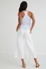 Bella Dahl Button Front Wide Leg Crop Pant
