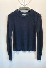 Autumn Cashmere Distress Scallop Sweater