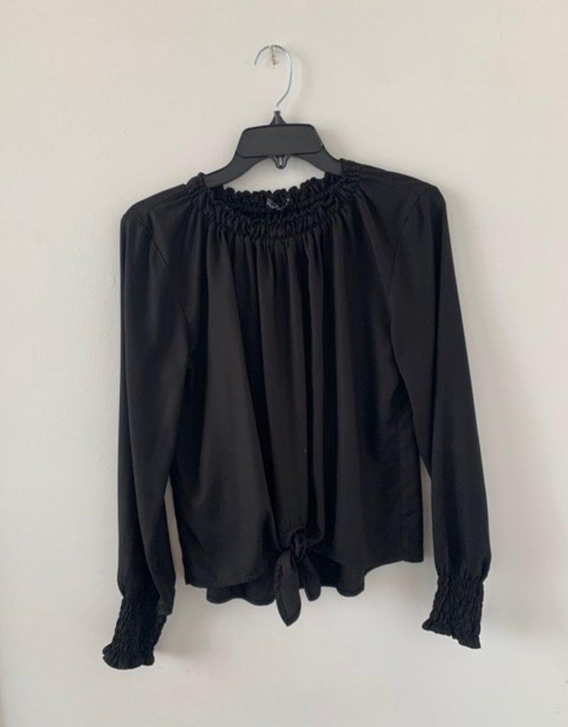 Velvet Heart Reiner Tie Front Blouse