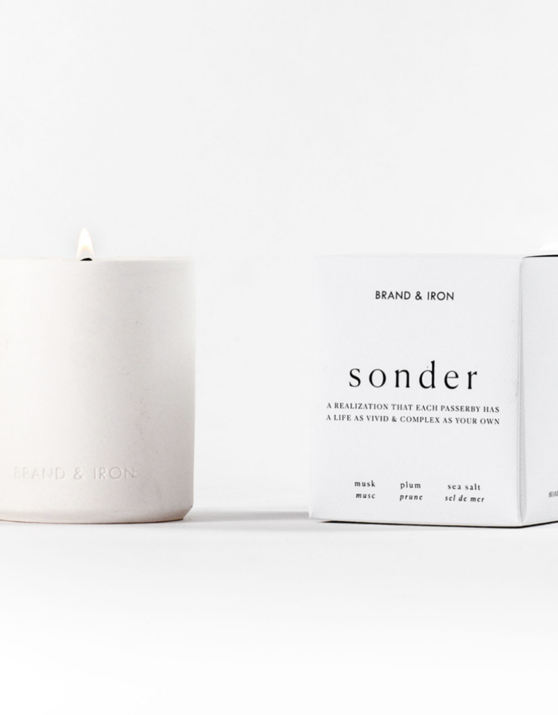 BRAND & IRON Laconic Series Candle
