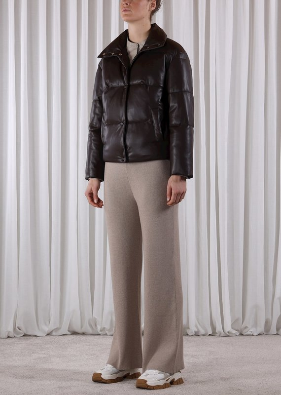 Rino & Pelle Azizi Faux Leather Puffer