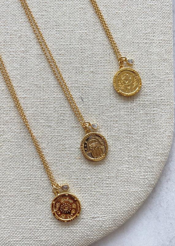 """Studio III.XX 25"""" Coin Necklace"""