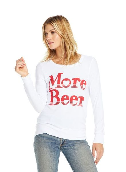 Chaser More Beer Cozy Knit Pullover