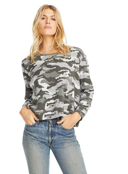 Chaser Camo Pullover