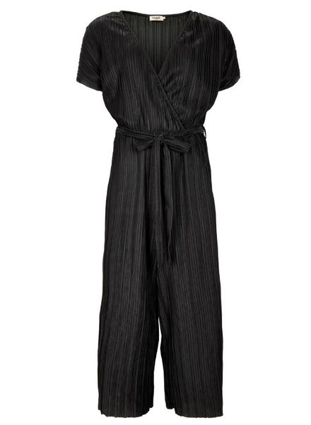 Soaked In Luxury Paloma Jumpsuit Black Size M