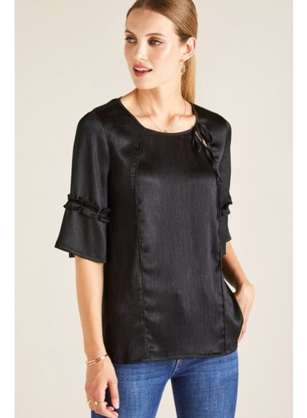 Yumi Yumi Blouse With Tie Detail