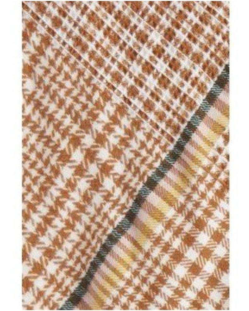 ICHI ICHI A Bjork Blanket Scarf O/S Caramel Cafe