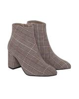 ICHI ICHI A Check Boots
