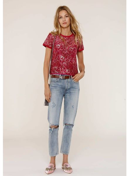 Heartloom Carren Floral Lace Top