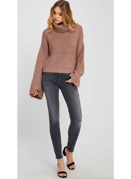 GENTLE FAWN Gentle Fawn Lorne Turtleneck Bell Sleeve Sweater
