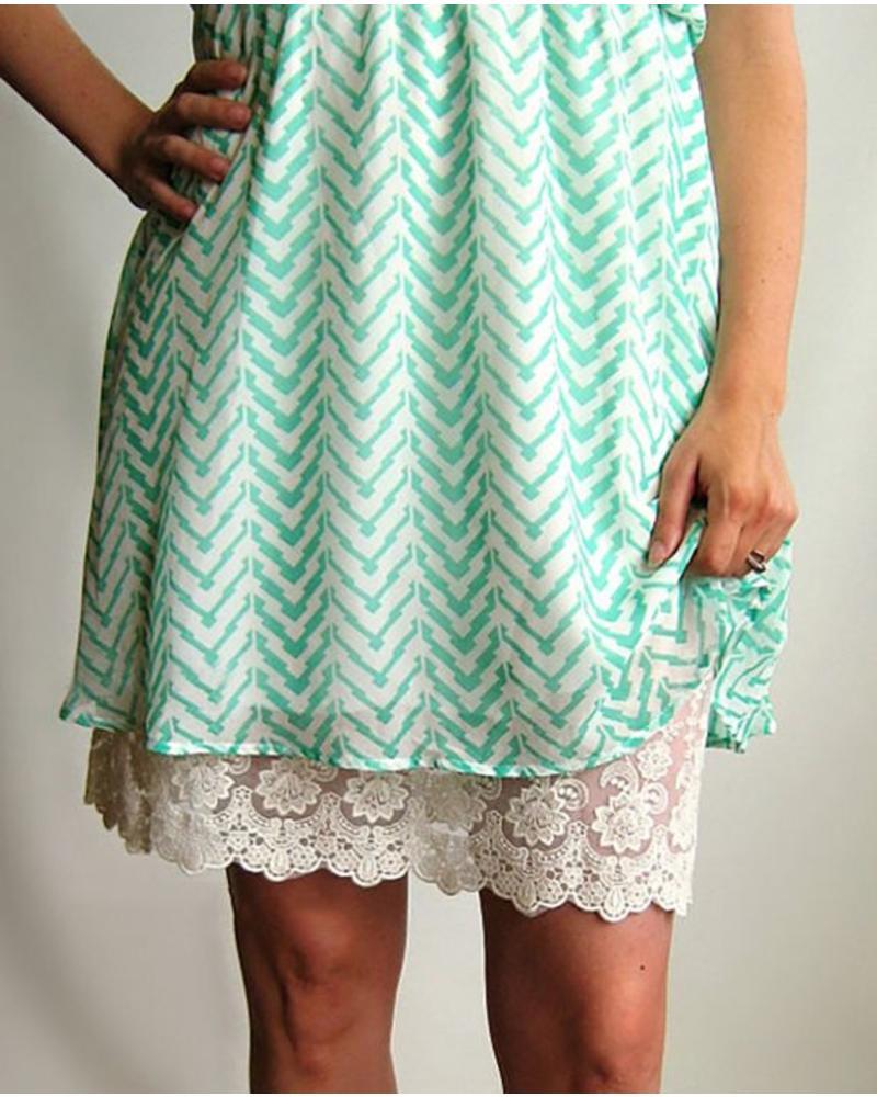 Grace & Lace Grace & Lace Lace Dress Extender