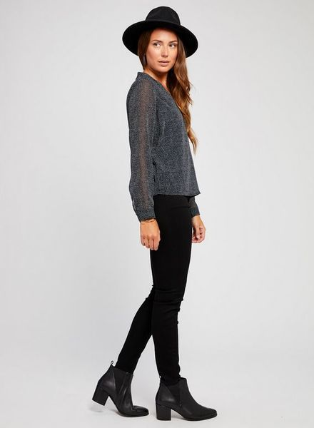 GENTLE FAWN Gentle Fawn Antonia Long Sleeve Blouse