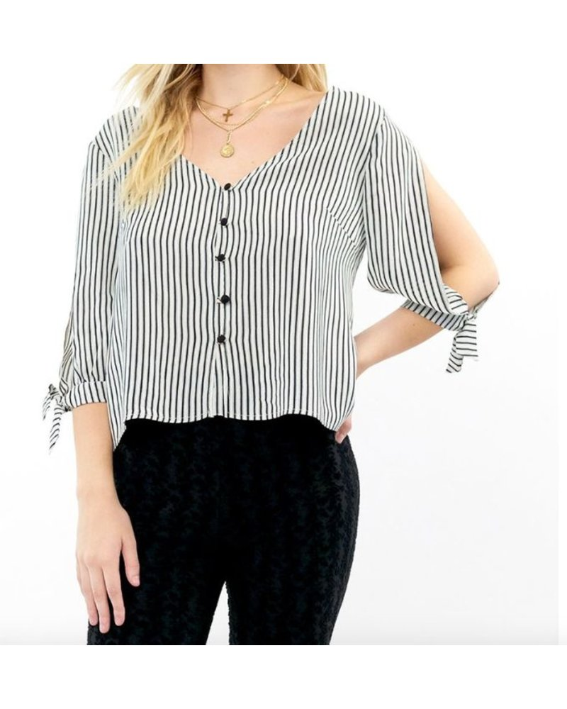 Saltwater Luxe Saltwater Luxe Carter Blouse