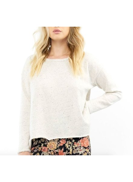 Saltwater Luxe Saltwater Luxe Salty Air Cross Back Long Sleeve