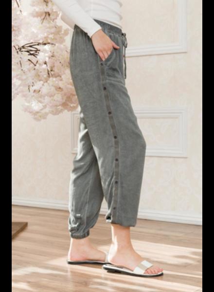 Mystree Mystree Garmet Washed Soft Pants