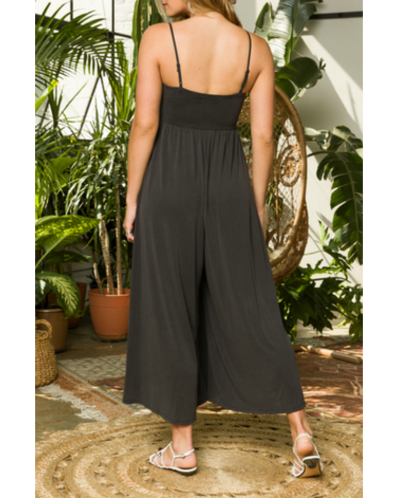 Mystree Mystree Wide Leg Jumpsuit