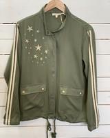 Mystree Mystree Olive Star Jacket
