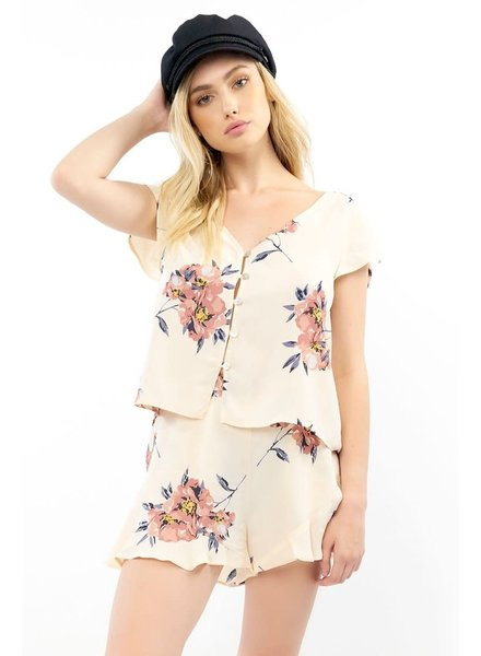 Saltwater Luxe Memphis Blossom Top