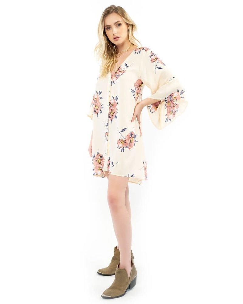 Saltwater Luxe Willa Kimono Blossom Dress