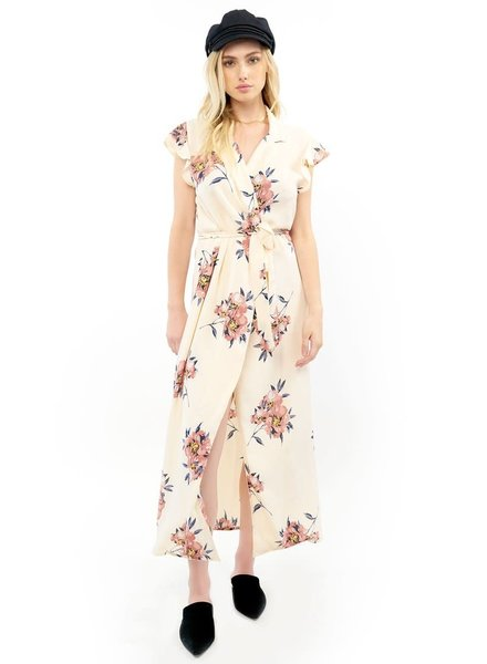 Saltwater Luxe Reese Blossom Maxi Wrap Dress