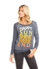 Happy Sunshine Weekend Cozy Knit