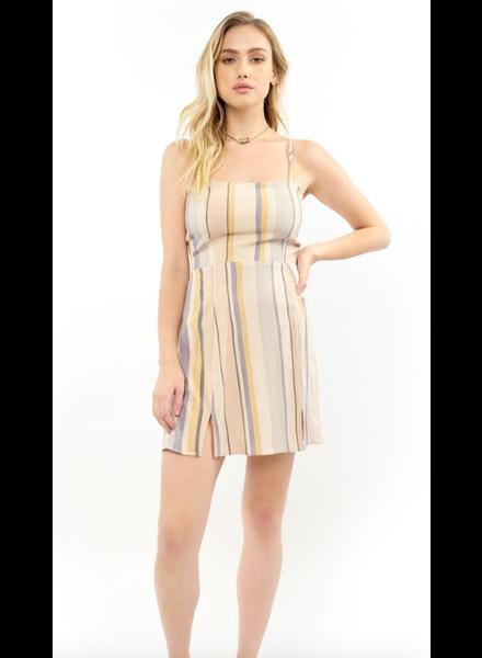Saltwater Luxe Mara Stripe Mini Dress