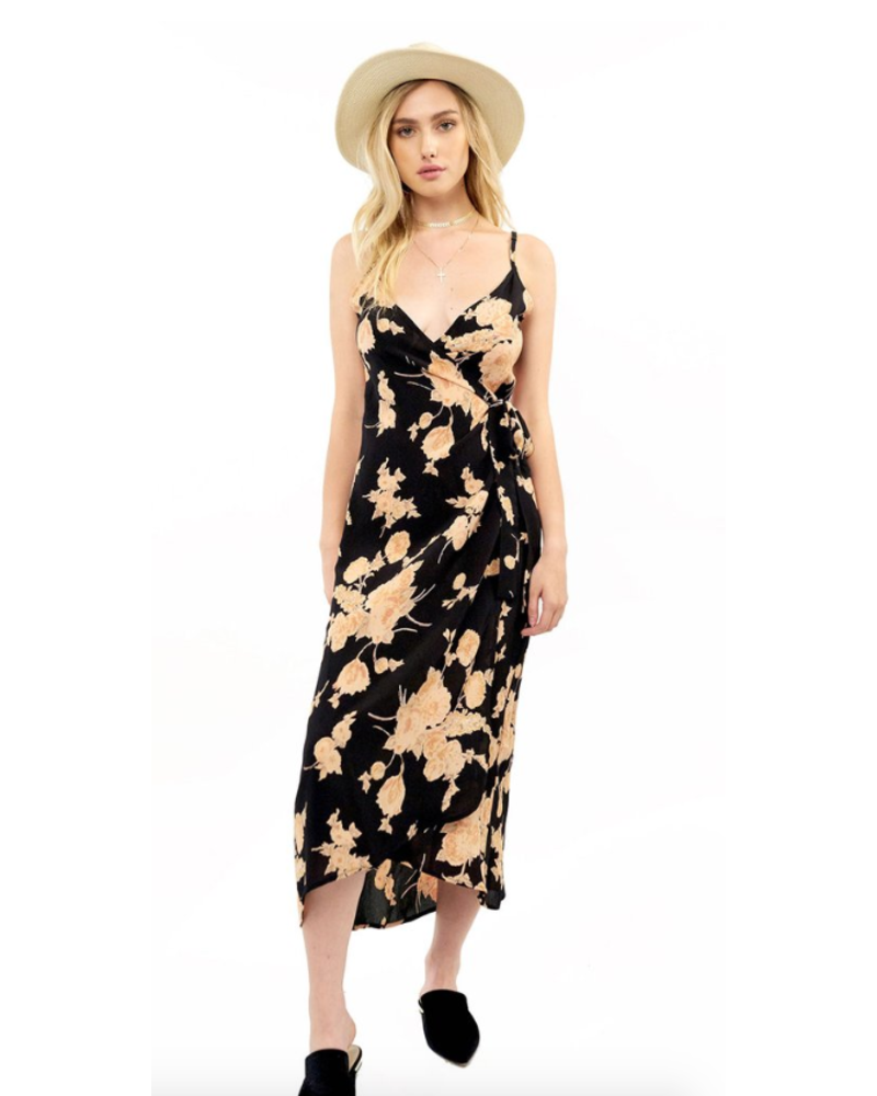 Saltwater Luxe Halsey Floral Midi Dress