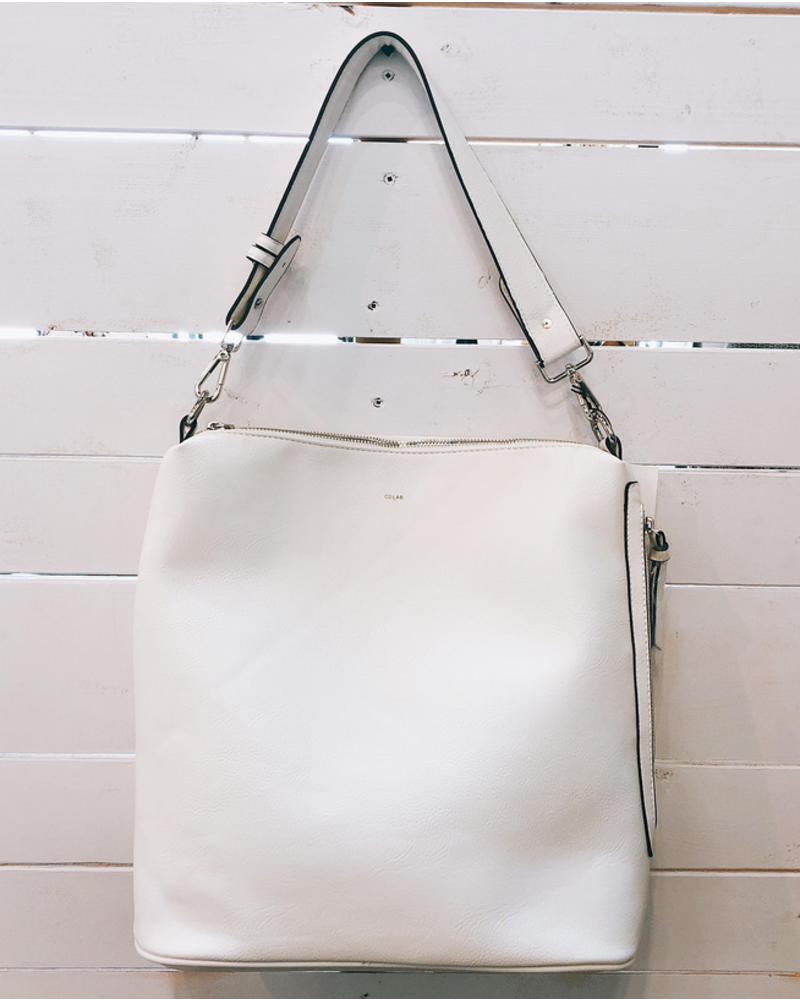Co Lab  Convertible Tote Backpack White