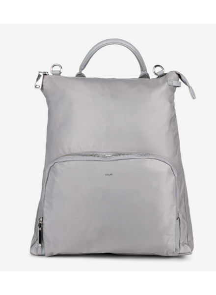 Co Lab Nylon Convertible Backpack Steel