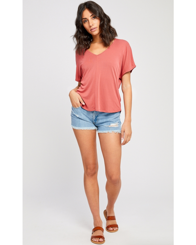 GENTLE FAWN Maddox Cut Out Top