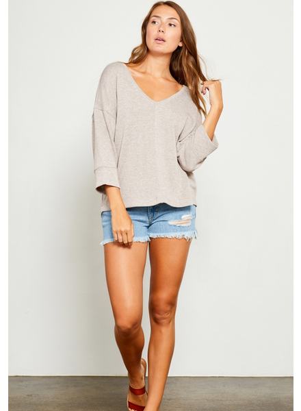 GENTLE FAWN Lisa 3/4 Sleeve Top