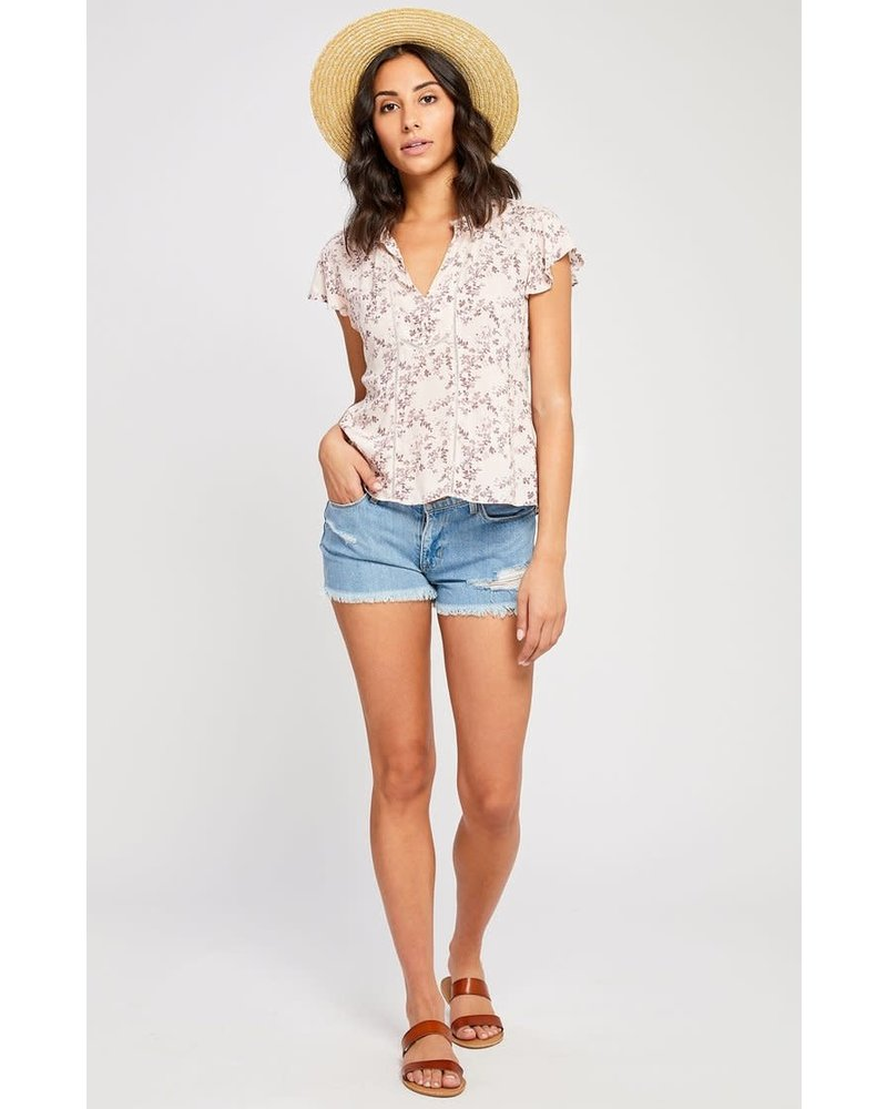 GENTLE FAWN Cameron Flutter Sleeve Blouse