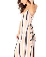 Saltwater Luxe Halsey Midi Wrap Dress