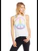 Watercolor Peace Muscle Tank