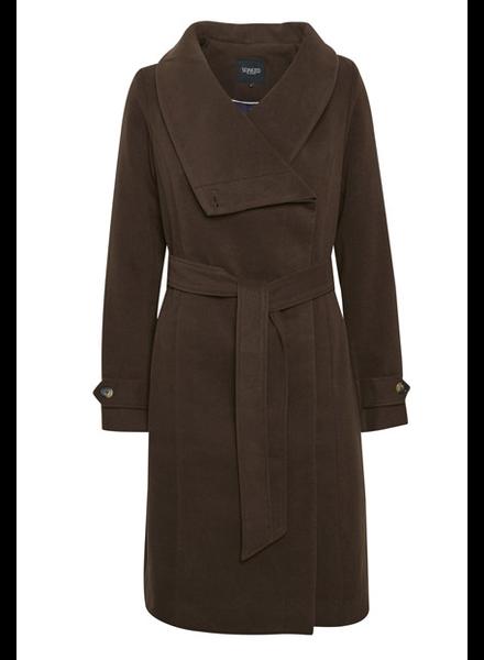 Canasta Tie Belted Coat