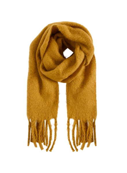 ICHI Tola Scarf Buckthorn Brown O/S