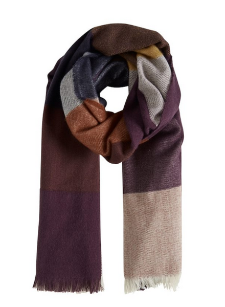 b.young Bavipia Scarf O/S Dark Copper