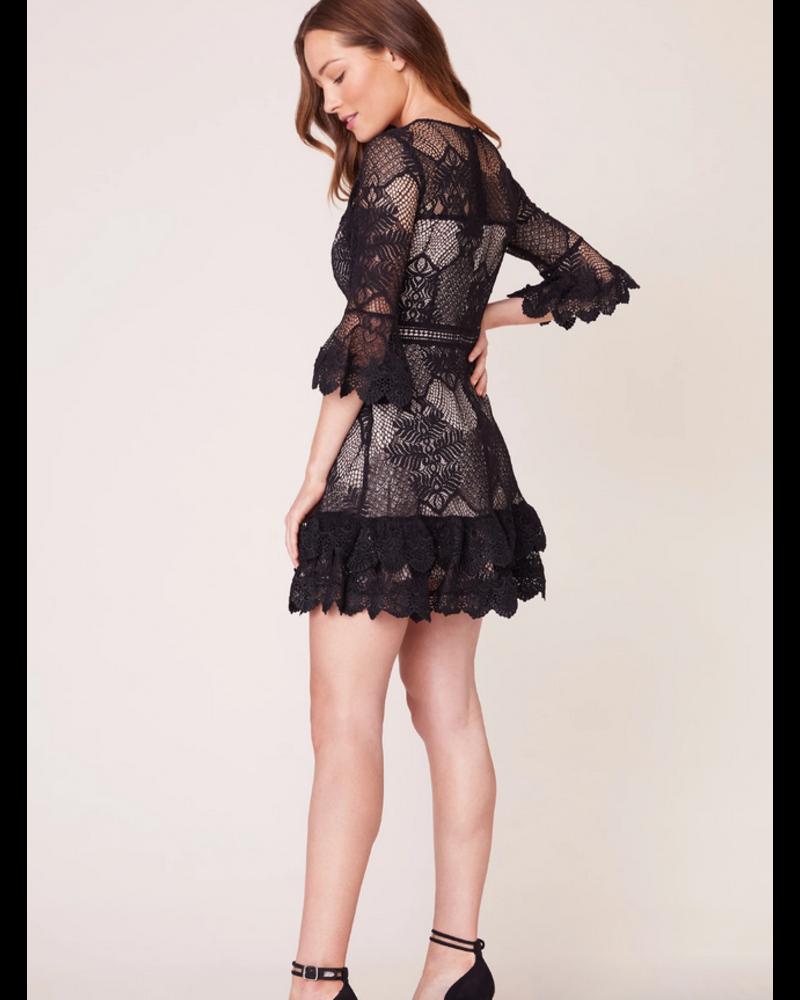 Layer Cake Lace Ruffle Dress