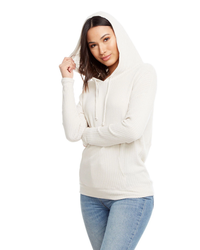 Thermal Drop Shoulder Kanga Hoodie