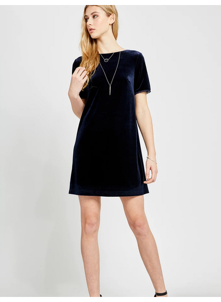 GENTLE FAWN Claire Velvet Mini Dress